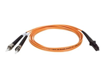 Tripp Lite Fiber Optic Patch Cable, MTRJ ST, 62.5 125, Duplex Multimode, 6 ft, N308-006, 235657, Cables