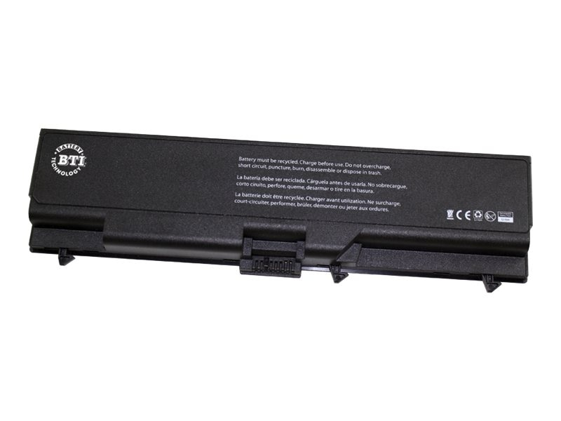 BTI 6-Cell Li-Ion Battery for Lenovo Thinkpad T410 T410I, 0A36302-BTI, 15135602, Batteries - Notebook