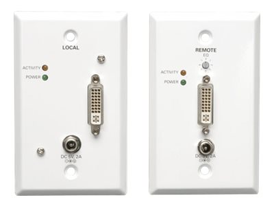 Tripp Lite DVI over Cat5 Cat6 Extender, Extended Range Video Transmitter and Rec, B140-1A1-WP