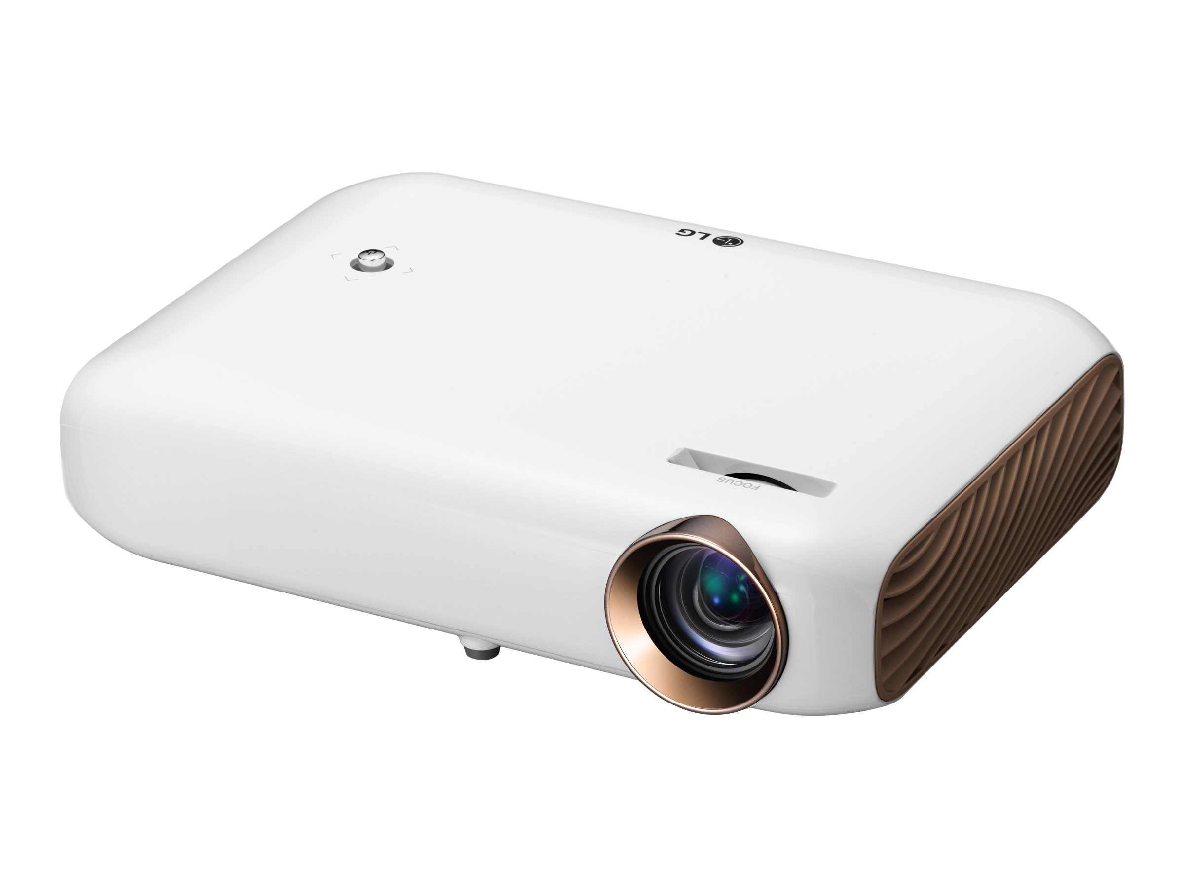 LG PW1500 WXGA LED Projector, 1500 Lumens, White