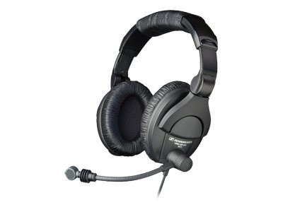 Sennheiser HMD 280-XQ-2 Boomset w  9.9 Ft. Straight Cable, 502714, 18457658, Headsets (w/ microphone)