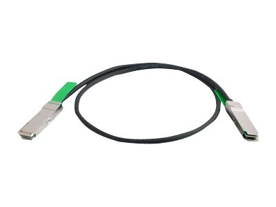 C2G 30AWG QSFP+ QSFP+ 56G Passive InfiniBand Cable, 1m