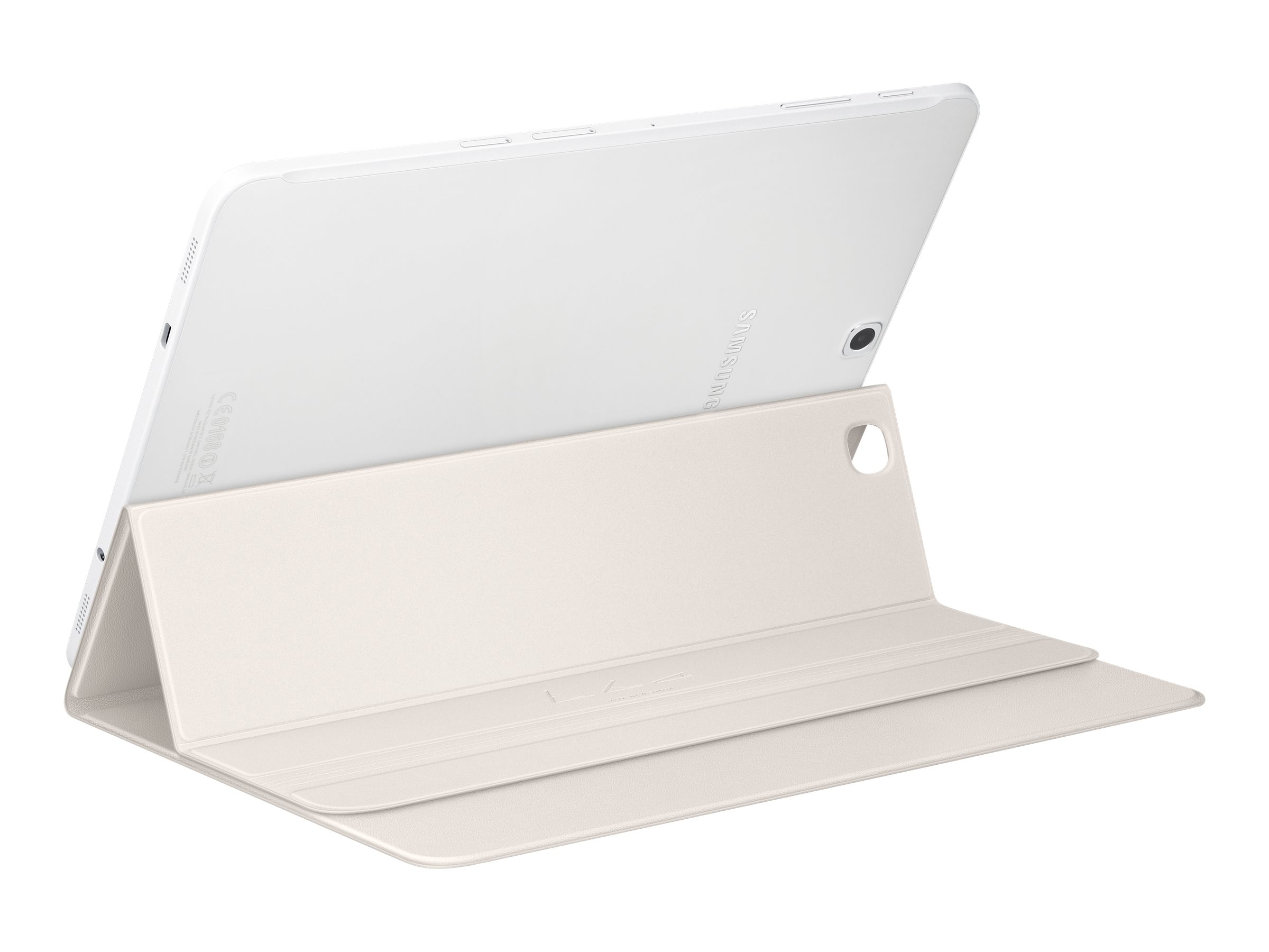 Samsung Book Cover for Galaxy Tab S2 9.7, White, EF-BT810PWEGUJ, 30654152, Carrying Cases - Tablets & eReaders