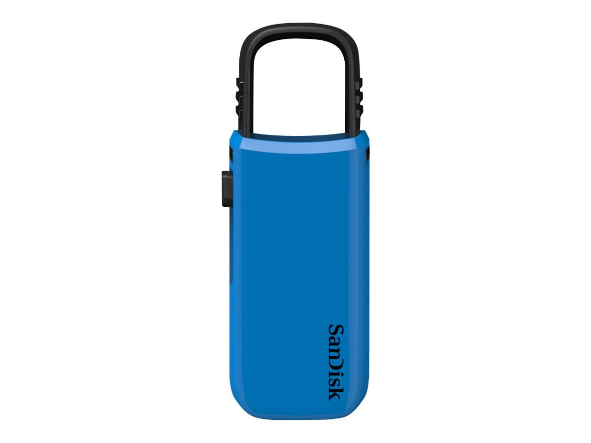 SanDisk 8GB Cruzer U Flash Drive USB, Blue, SDCZ59-008G-A46B
