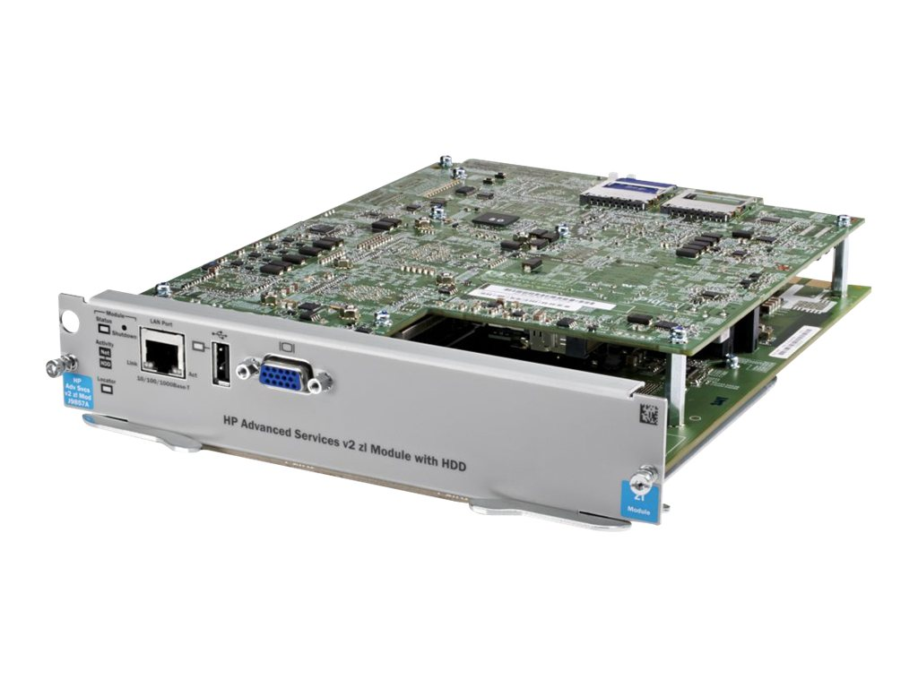 HPE Advanced Services V2 ZL Module w HDD, J9857A, 16590957, Network Routers