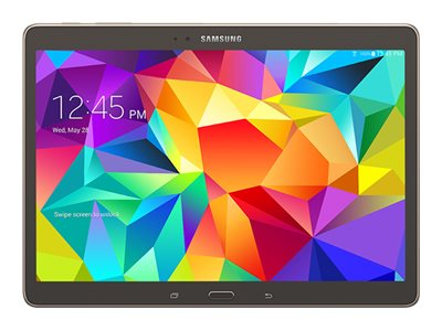 Samsung Galaxy Tab S 16GB Sprint 2xWC 10.5 Touch Android 4.4 Bronze, SM-T807PTSASPR, 17809818, Tablets