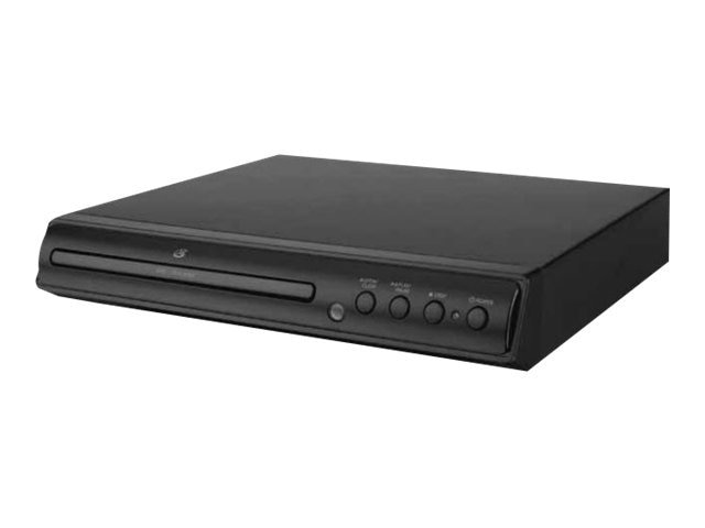 GPX D200B Progressive Scan 2-Channel DVD Player with Remote Control, D200B