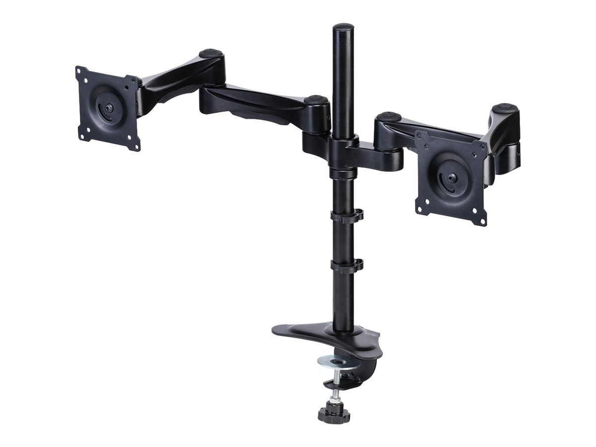 DoubleSight Dual Monitor Flex Arm, Swing Style, 6 - 30 lbs Capacity per Monitor, DS-230PS, 15682083, Stands & Mounts - AV