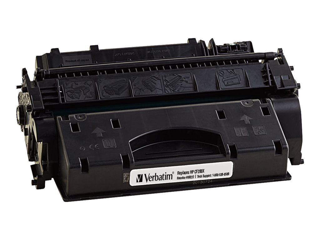 Verbatim CF280X Remanufactured Toner Cartridge, 99222