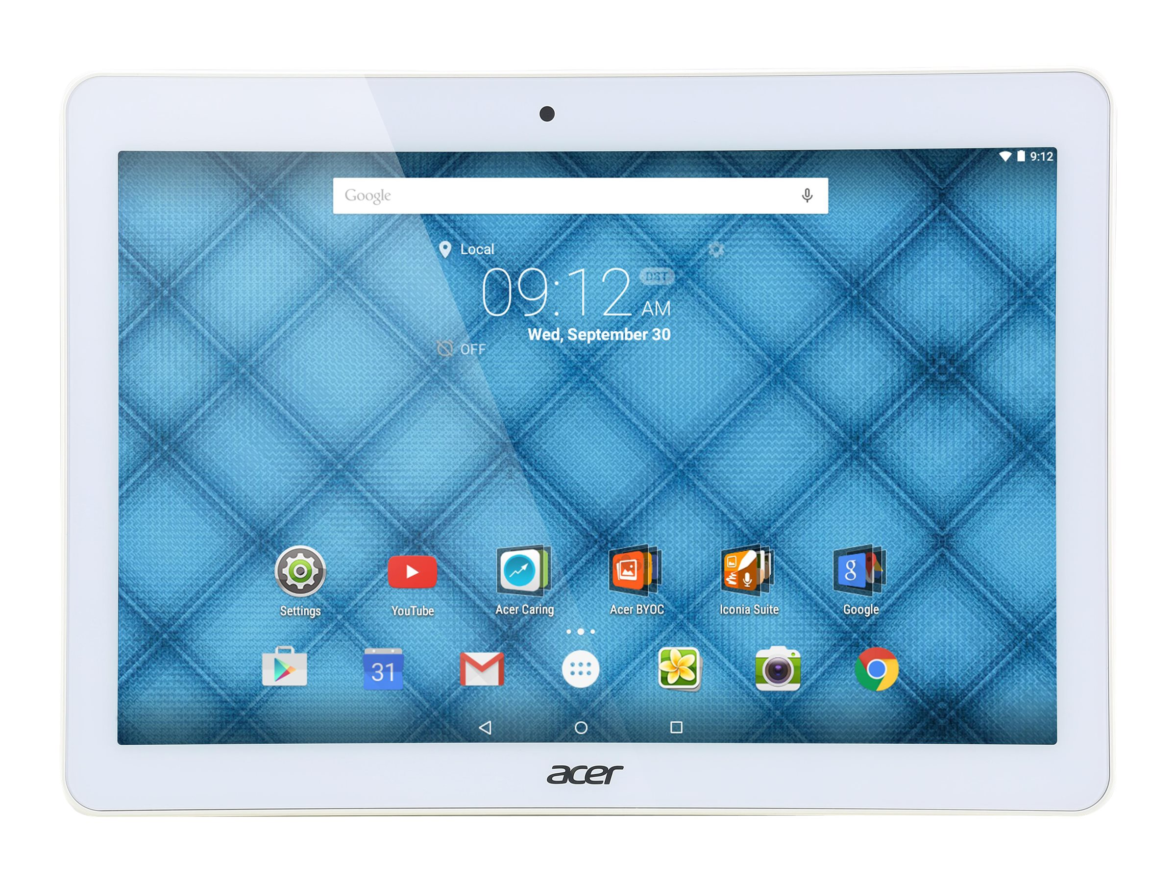 Acer Iconia B3-A10-K154 MT8151 1.7GHz 1GB 32GB bgn BT WC 2C 10.1 WXHA MT Android 5.1 White, NT.LB9AA.001, 30575382, Tablets
