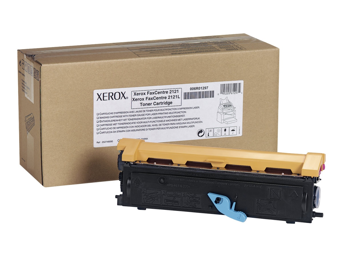 Xerox Black Toner Cartridge for FaxCentre 2121