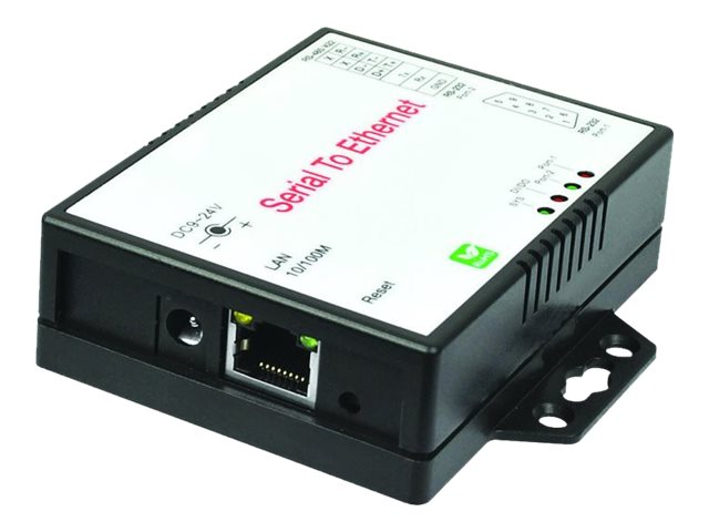 Siig 2-Port RS-232 422 485 Serial over IP Ethernet Device Server