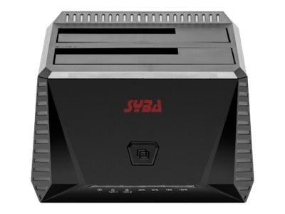 Syba USB 3.0 Dual Bay Hard Drive Docking Station, SY-ENC50071