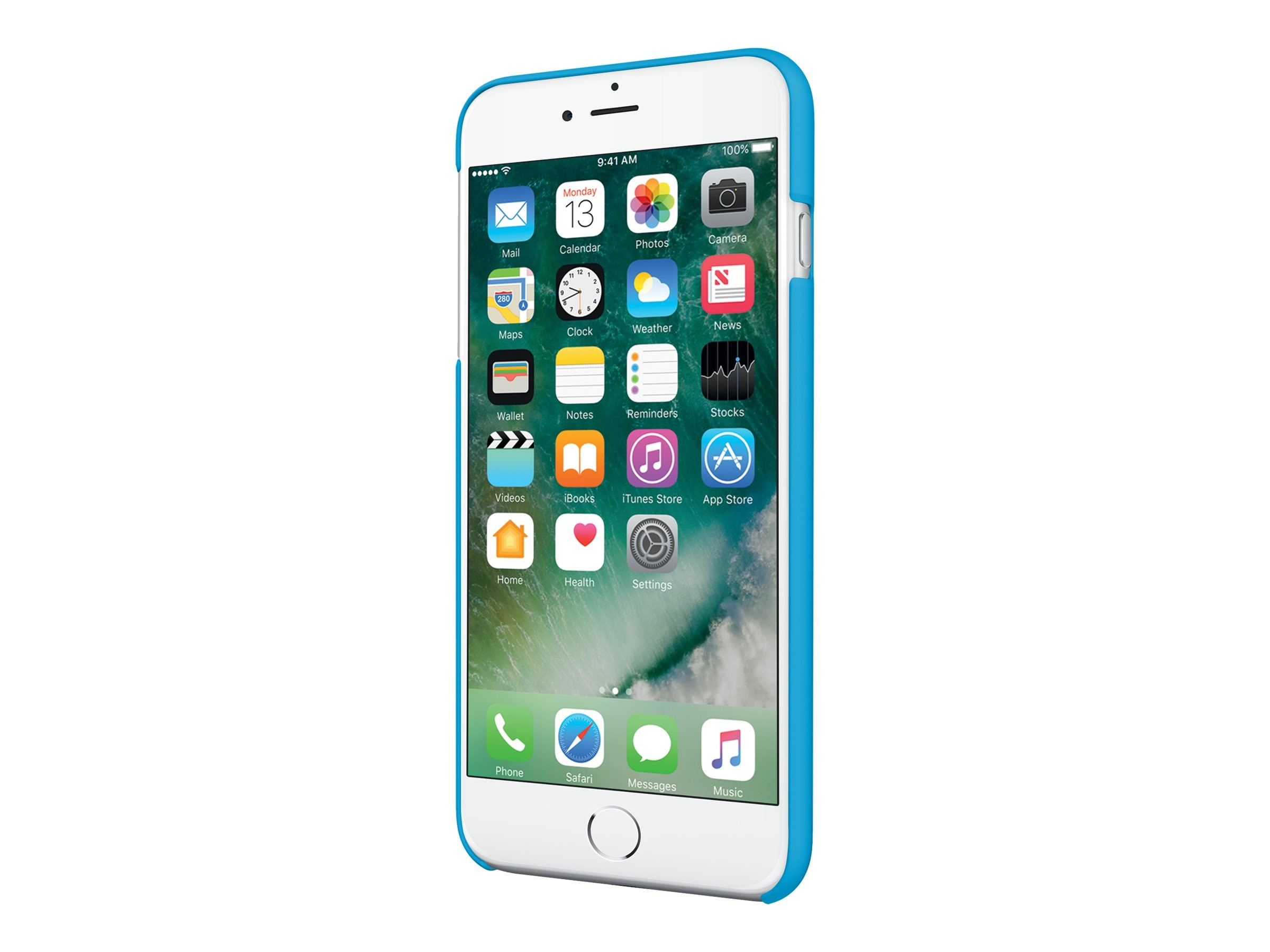 Incipio Feather Ultra Light Snap-On Case for iPhone 7 Plus, Cyan