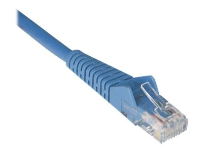 Tripp Lite Cat6 UTP Gigabit Ethernet Patch Cable, Blue, Snagless, 6ft, N201-006-BL