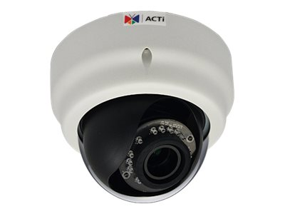 Acti 3MP IR Day Night Indoor Full HD IP Dome Camera with 2.8-12mm Varifocal Lens, E62A, 19419004, Cameras - Security