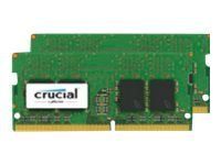 Crucial 16GB PC4-19200 260-pin DDR4 SDRAM SODIMM Kit, CT2K8G4SFS824A, 31946350, Memory