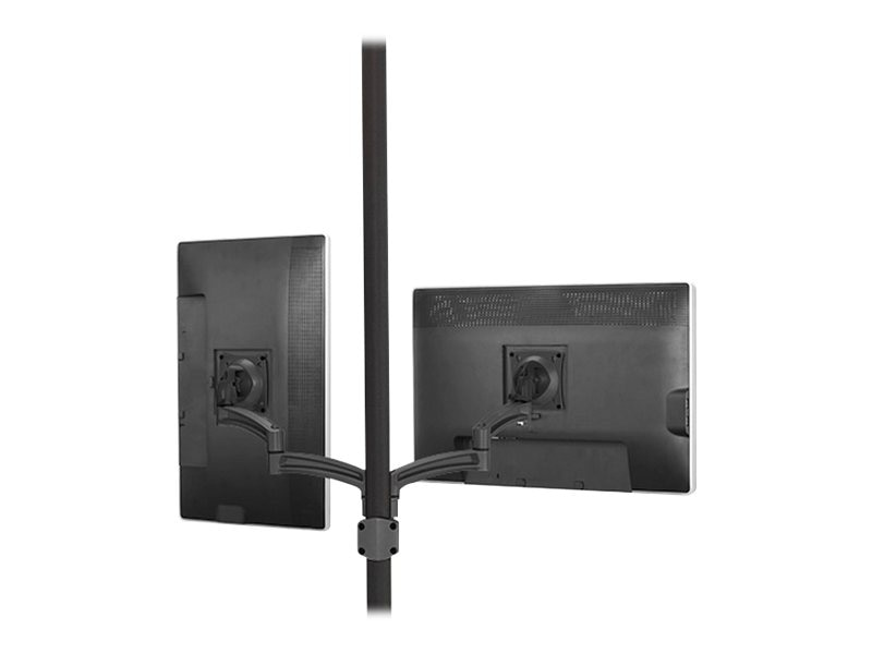 Chief Manufacturing Kontour K2P Pole Mount Articulating Arms, Dual Monitor, K2P220B, 17092079, Stands & Mounts - AV