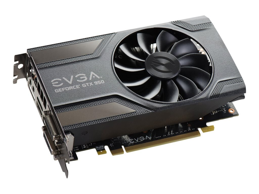 eVGA GeForce GTX 950 Gaming PCIe 3.0 Graphics Card, 2GB GDDR5, 02G-P4-1954-KR