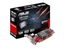 Asus Radeon HD 6450 Low-Profile PCIe 2.1 Graphics Card, 1GB DDR3, EAH6450 SILENT/DI/1GD3 (L, 12749414, Graphics/Video Accelerators
