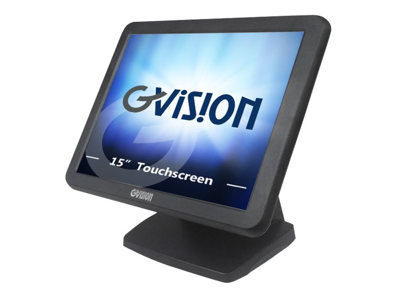 GVision 15 LCD Touchscreen Monitor, Black, V15DX-AB-459G