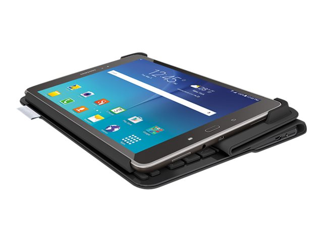 Logitech Keyboard Case for Samsung Galaxy Tab A, Tab S2, Black
