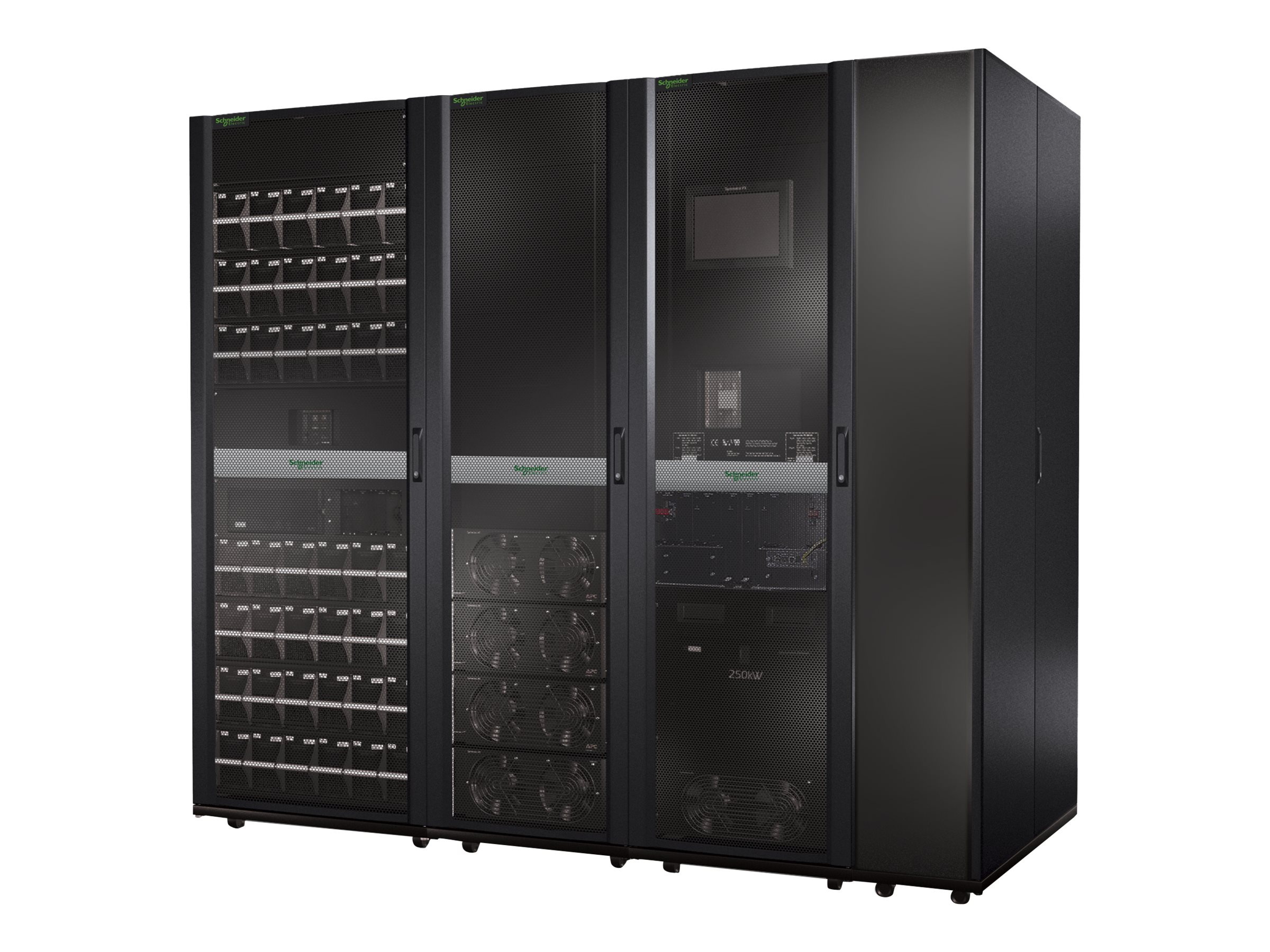 APC Symmetra PX 100kW Scalable to 250kW with Right-mounted Maintenance Bypass and Distribution, SY100K250DR-PD, 10124496, Battery Backup/UPS