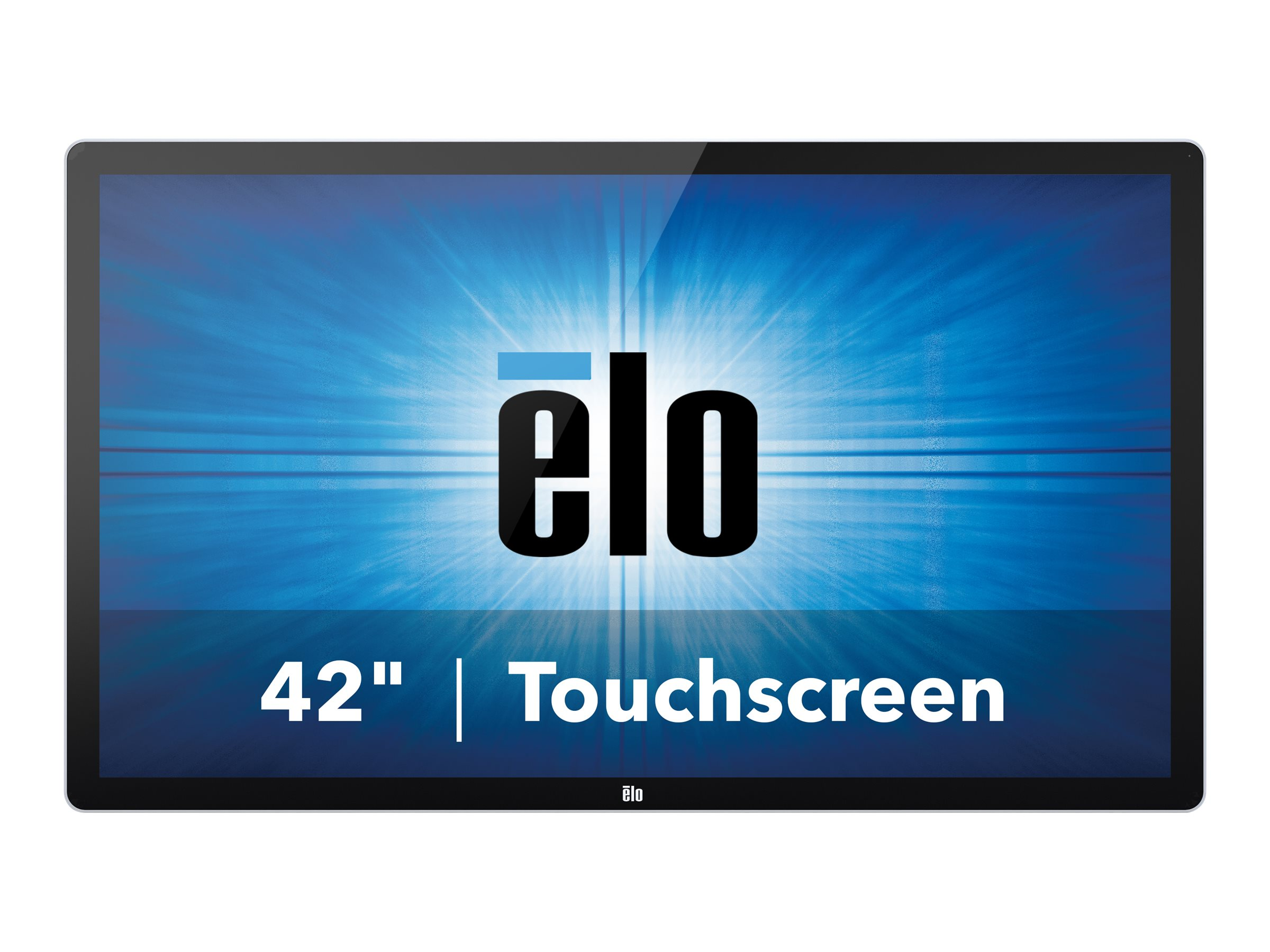 ELO Touch Solutions 4202L 42-inch WS LCD Touchscreen VGA HDMI Monitor DP Projected CAP USB, Clear Gray