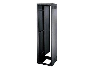 Middle Atlantic Stand-Alone Enclosure, Solid Sides, 40U x 19w x 25d, Black Powder Coat, ERK-4025, 12207455, Racks & Cabinets