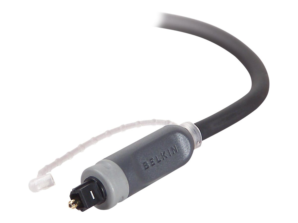 Belkin PureAV Digital Optical Audio Cable, 6ft (AV20000-06), AV20000-06, 4822968, Cables