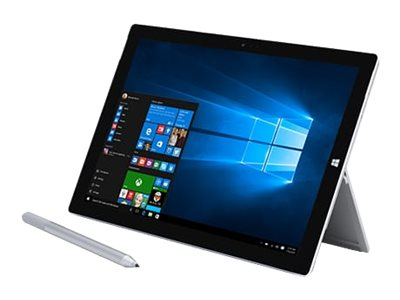 Microsoft Bundle Surface Pro 3 Core i5 128GB W10P64 with Black Type Cover, TS2-00004, 30902380, Tablets