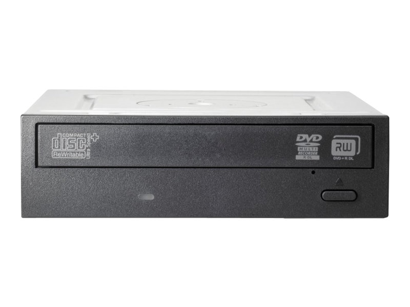 HP 16x SATA DVD SuperMulti Drive - Black, QS208AA, 13236506, DVD Drives - Internal
