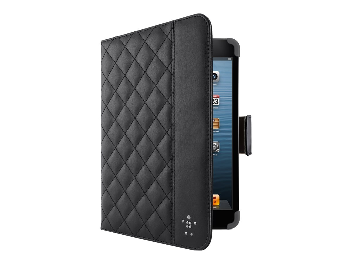 Belkin Quilted Cover with Stand for iPad mini, Black