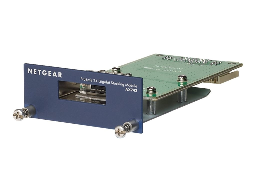Netgear ProSafe AX742 24Gbps Stacking Kit, AX742, 6784299, Network Device Modules & Accessories