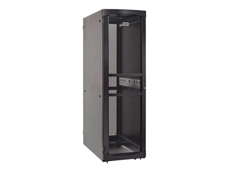 Eaton RS Server Enclosure w  Sides, 52U x 800mm x 1200mm, Black, RSV5282B