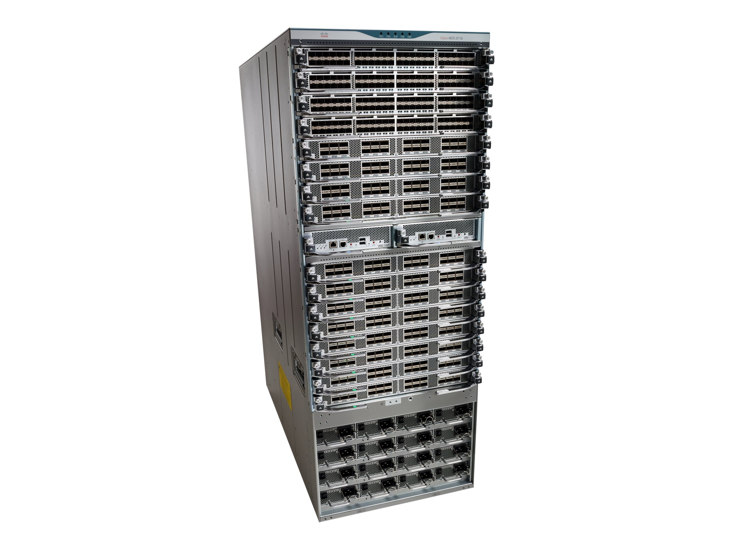 Cisco MDS 9718 Chassis, Fans Inc., DS-C9718