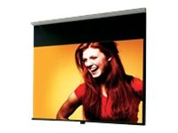 Draper Luma Manual Projection Screen with Auto Return, High Contrast Gray, 16:9, 108