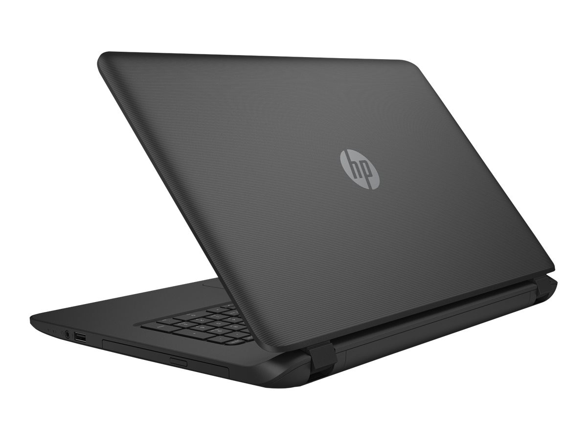 HP Notebook PC AMD A6-6310 750GB 17.3 W10 Black, M2C01UA#ABA