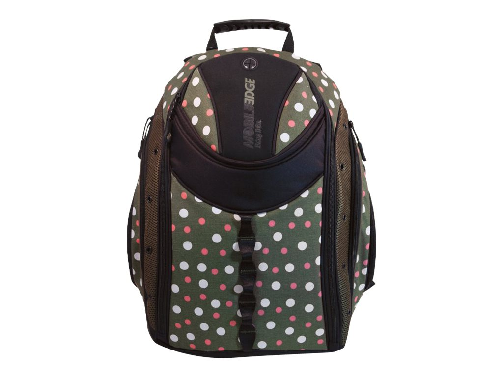 Mobile Edge Express Backpack 16-17.3  Mac, Eco-Friendly Dots, MEBPE9D, 14468771, Carrying Cases - Notebook