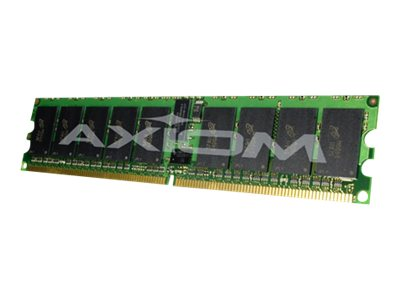 Axiom 4GB PC2-3200 ECC DDR2 SDRAM RDIMM Kit for IBM eServer xSeries 336, 346 Models, 73P4792-AXA, 6624551, Memory