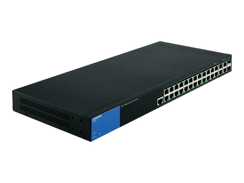 Linksys 28 Port Managed Gig Poe+ Switch