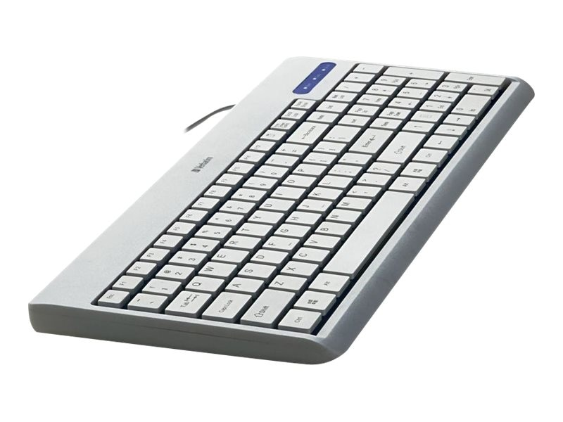Verbatim USB 99377 Corded Keyboard, White, 99377