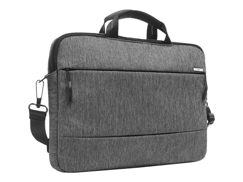 Incipio Incase Corp City Brief Bag for 15 MacBook Pro, Heather Black Gunmetal Gray