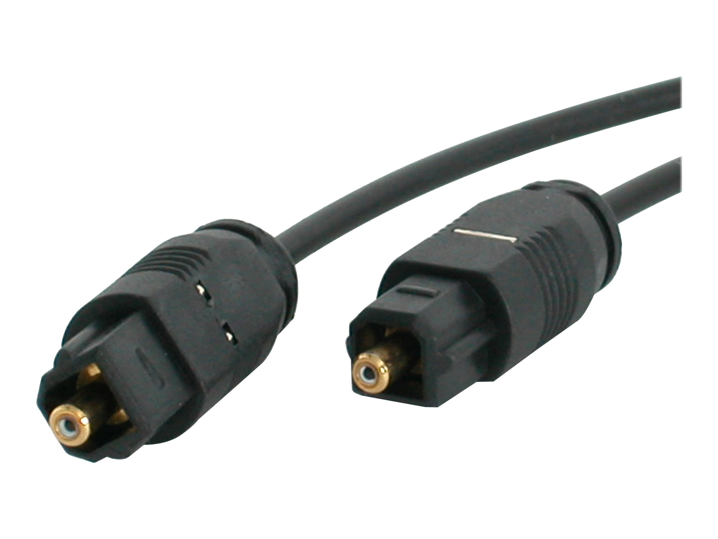 StarTech.com Digital Audio Cable, Thin Toslink, 3ft, THINTOS3, 4919348, Cables