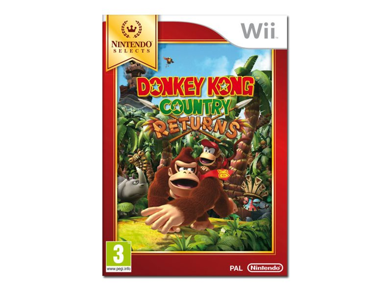 Nintendo Donkey Kong Country Returns, Wii, RVLPSF82