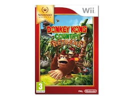 Nintendo Donkey Kong Country Returns, Wii, RVLPSF82, 31648264, Video Games