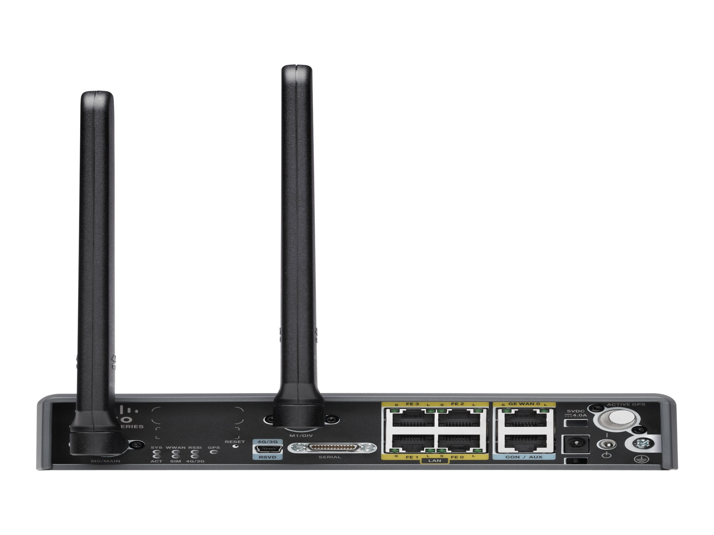 Cisco C819 Compact Hardened 4G LTE M2M Gateway fpr Verizon 700, C819HG-4G-V-K9, 15159866, Wireless Access Points & Bridges