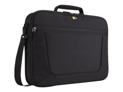 Case Logic 15.6 Clamshell Laptop Briefcase, VNCI-215BLACK, 13663399, Carrying Cases - Notebook
