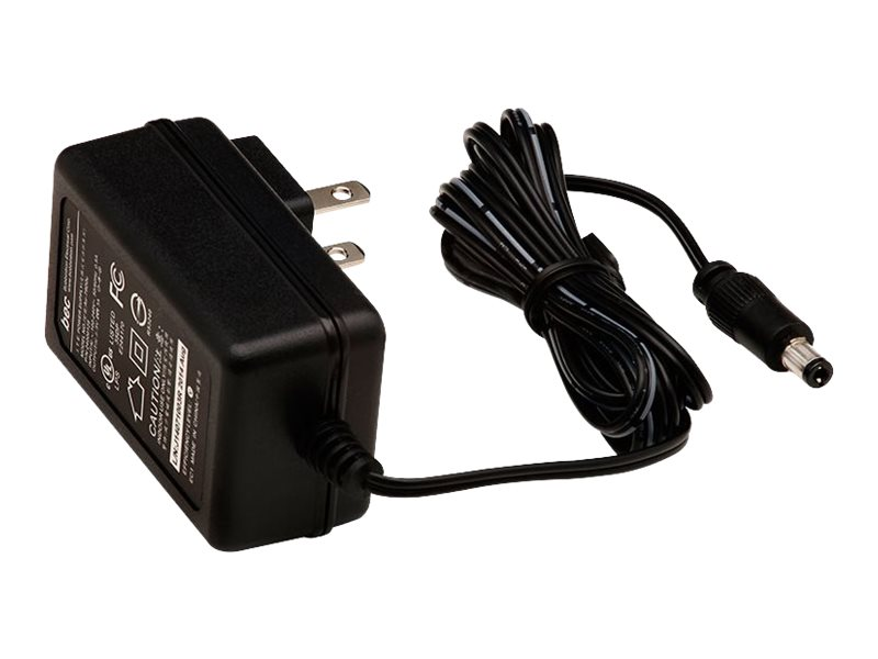 Digi AC Power Supply 5VDC US 2-pin to 2.5mm Locking Barrel Plug for TransPort WR11, 76000934