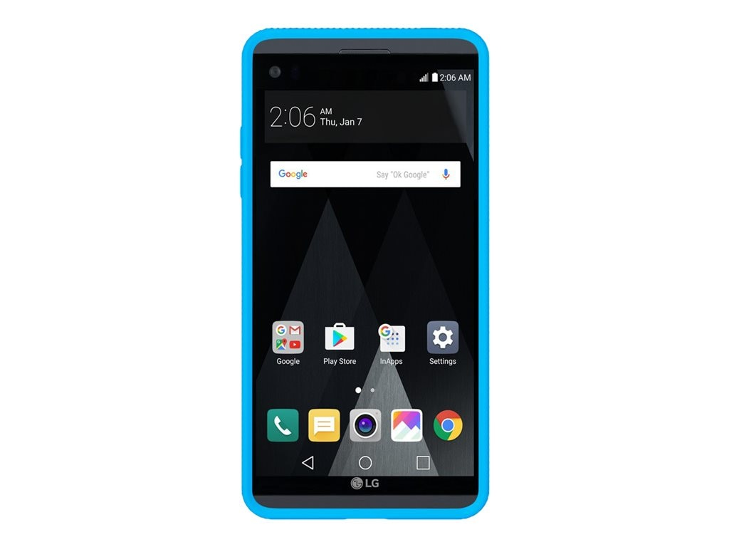 Incipio Octane Co-Molded Impact Absorbing Case for LG V20, Cyan Frost, LGE-314-CYFT